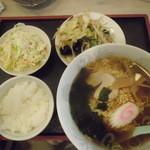 十勝ラーメン - Dランチ「780円」