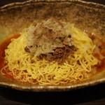 中華そば くにまつ - 汁なし坦々麺(×1)