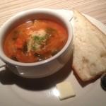 19218330 - ランチのスープ&パン