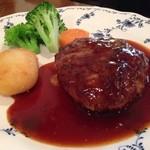 吉川亭 - 姉の食べたハンバーグ¥1000