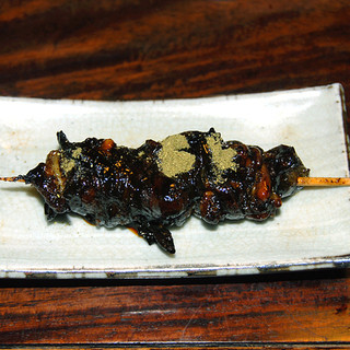 明神下 神田川 - 料理写真:きも焼き