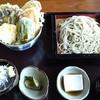 手打ちそば いちい - 料理写真:野菜天丼ランチ