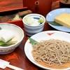 蕎麦処 黒帯 - 料理写真:蕎麦屋の晩酌…旬菜9品から3品選んで頂きます。飲み物は日本酒・焼酎・生ビールからお選びください