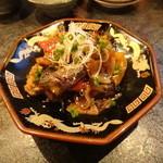 亀千人 - グルクンとお野菜の塩麹オイスター炒め