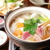 勘太郎 - 料理写真:女性に大人気の「合鴨鍋」。名古屋デートでのお食事にお勧め。