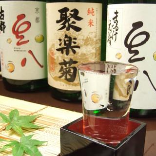 洛中唯一の酒蔵・佐々木酒造の清酒「豆八オリジナルラベル」