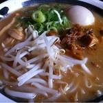 新・和歌山ラーメン ばり馬 - 料理写真:こく味噌ラーメン_2013年6月