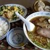 新盛楼 - 料理写真:海老にらの玉子炒めセット・ラーメン付(1730円)