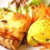 ドードーの空 - 料理写真:生地から自家製自慢のキッシュ&サラダ(2種類)