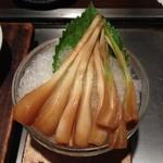 ぼちぼち - エシャロットポン酢(450円)