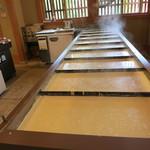 宇豆基野 - 湯波を作る槽