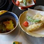 木曽路 - 煮物・揚げ物@しゃぶしゃぶ「いろどり」コース