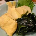 19285480 - 竹の子とわかめの煮物