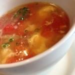 19306588 - トマトと卵のスープ