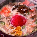 きのこ料理とアボカド料理の専門店 きのこの里 - きのこの里といえばコレ!きのことトリュフの魔法鍋はお腹満足でも超超超低カロリー☆