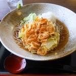 松花 - 料理写真:天おろしそば(冷)