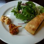 アスパラガス - ランチの前菜