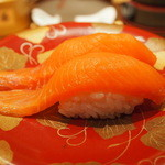 回転寿司函館まるかつ水産 - 時鮭