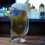 こうちゃん - 生ビール中ジョッキ 330yenの良心価格。