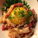 糀Cafe Izakaya Suiren - 馬肉とササミのユッケ