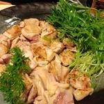 蕎麦道 武蔵野 - 但馬鶏