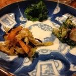 蕎麦道 武蔵野 - 漬物3種