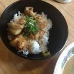 天下一品 - とり丼定食(普通ラーメンとセットで890円)