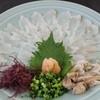 安芸路 酔心 - 料理写真:おこぜの薄造り 2160円 夏季限定