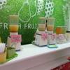 フレッシュフルーツまえかわ - 内観写真:季節のフルーツで生ジュース