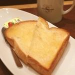 進々堂 - トースト(醍醐味)とコーヒー