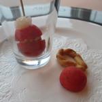 19385831 - トマトと玉葱のソース、トマトとクミンのお菓子