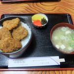 藤屋食堂 - ソースかつ丼