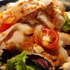鉄鍋家 - 料理写真:紅あぐー豚しゃぶしゃぶサラダ