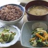 玄米カフェ - 料理写真:黒米