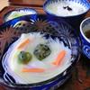 別館 茶寮 お多津 - 料理写真:<6月>雨蛙風空豆と素麺