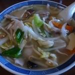 喜楽 - 広東麺650円
