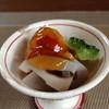 食楽 板垣 - 料理写真:2013/6 付出し(すずき、れんこん、ゴーヤ)