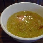 19413192 - 煮干塩つけ麺。新しいラーメン・つけ麺の誕生です。