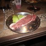 バーベキュービレッジ - 厚切りサーロインステーキ 300g
