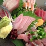 炉ばた 魚魚炭 - 御刺身盛り合わせ1