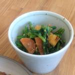 コバト - 青菜の胡麻みそ和え