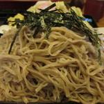 草笛 - 野菜天ぷらざるそば @¥1000− 中盛600g+@¥330−