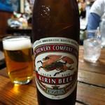 栄屋酒場 - ビール小400円