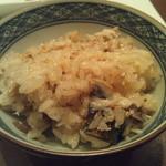 旬鮮炭火焼 獺祭 - 土鍋鯖炊き込みご飯は定番ですね