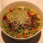 龍天門 - 冷坦々麺
