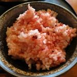 糀Cafe Izakaya Suiren - 紅麹のご飯