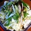 龍ちゃんホルモン - 料理写真:ホルモン鍋(煮る前)