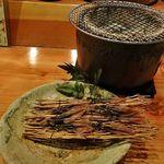 魚料理 ろっこん - ホタルイカ丸干し(900円)