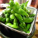 串焼 文福 - 枝豆300円