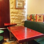 ロックフィッシュ - テーブル席